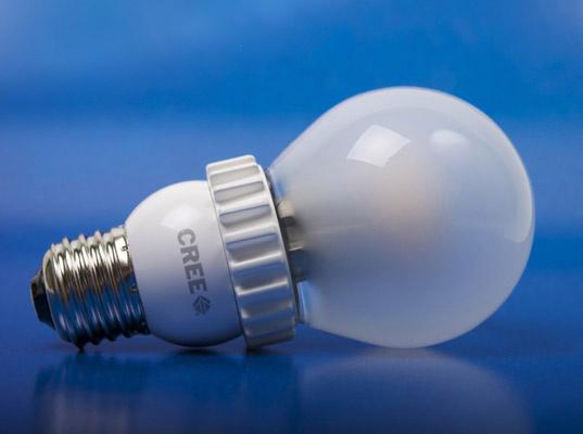 A CREE lightbulb.