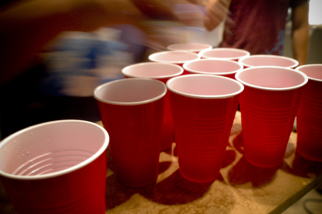 File photo: Hosts who charge admission to parties may be held legally responsible if a drunken underage guest is hurt or injures someone else.
