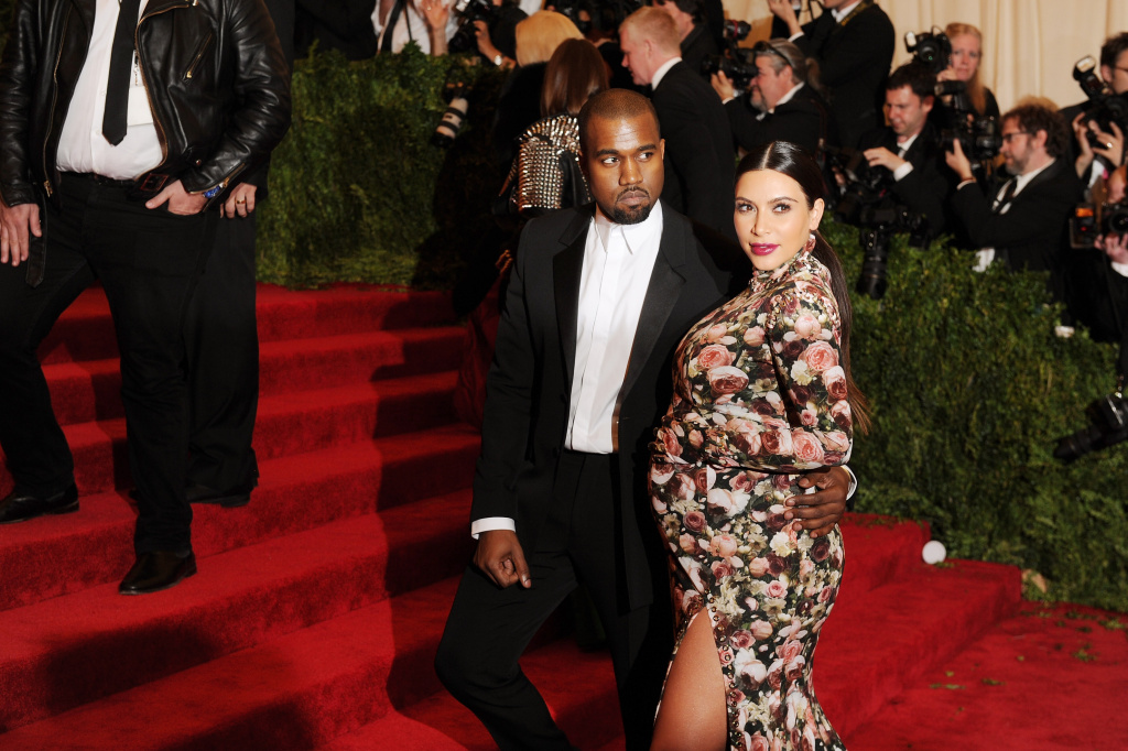 File: Kanye West and Kim Kardashian attend the Costume Institute Gala for the