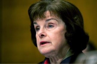 Sen. Dianne Feinstein (D-Calif.) questions witnesses at a hearing on Capitol Hill on March 30, 2011.