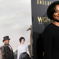 "Writer Misha Green attends WGN America's ""Underground"" Season Two Party, hosted by John Legend, at 2017 Sundance Film Festival on January 21, 2017 in Park City, Utah."