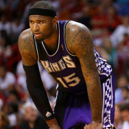 DeMarcus Cousins #15 of the Sacramento Kings. Recently he's made headlines because of altercations with the press ... are more athletes finding the press difficult to deal with? We'll find out