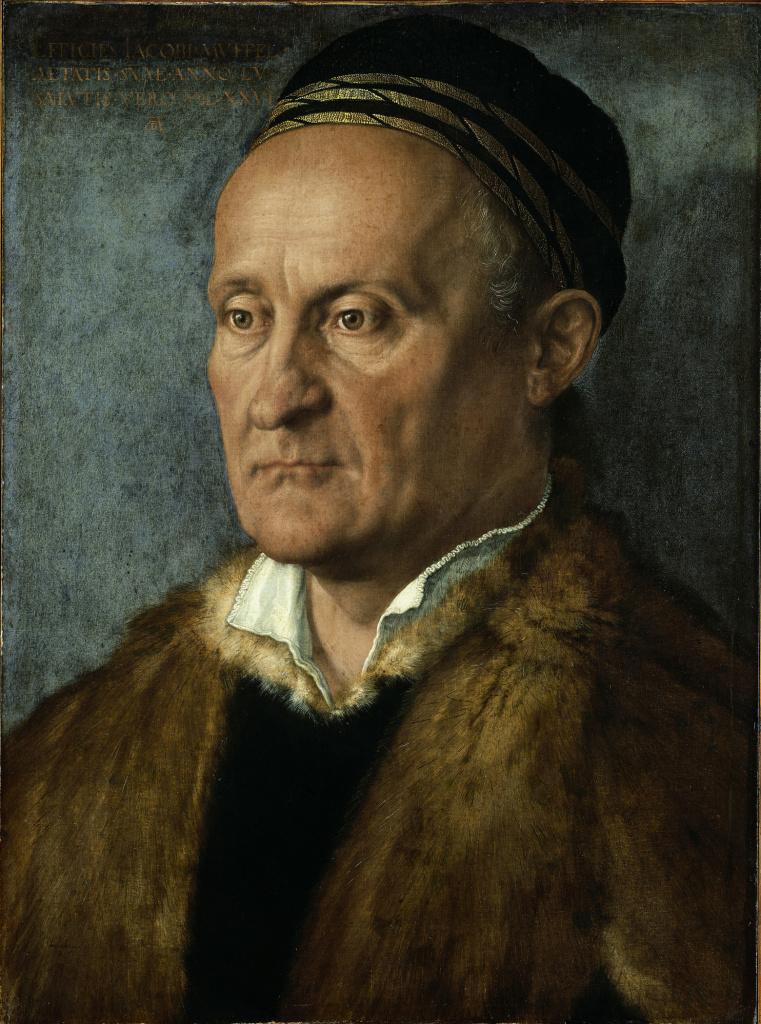 Albrecht Dürer, Portrait of Jakob Muffel, 1526
