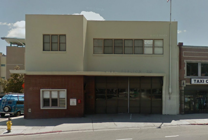 Echo Park Fire Station on Sunset near Alvarado