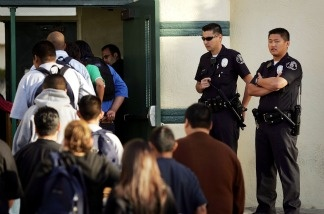 A bill sponsored by L.A. Assemblyman Reginald Jones-Sawyer would limit the role of police officers on public school campuses.