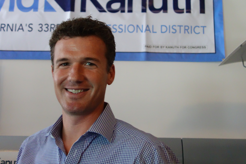 David Kanuth is dark horse candidate in the race to succeed Westside Democratic Congressman Henry Waxman.