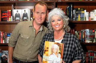 Paula Deen and co-author Brandon Branch