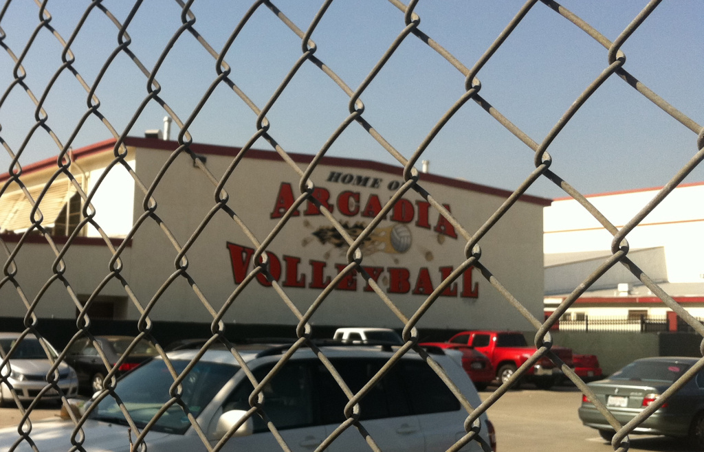 Arcadia High School, one of the many that can look forward to benefiting from the city's parcel tax.