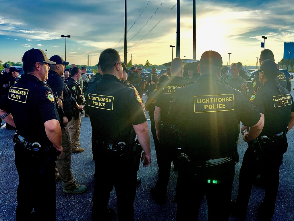 The Lighthouse Police department is small — just 63 officers total and a dispatch team. The Muscogee Nation is looking to hire more officers and prosecutors to meet law enforcement demands.