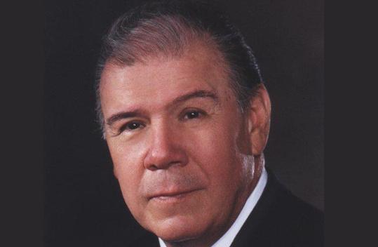 Co-founder of Telemundo Frank H Cruz