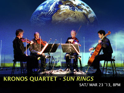 Kronos Quartet: Sun Rings