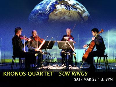 Kronos Quartet: Sun Rings