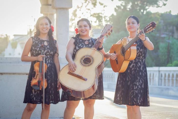 La Victoria is a Los Angeles-based mariachi trio.