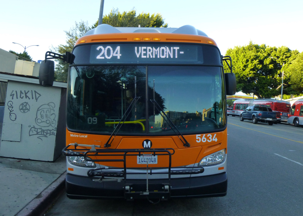 The Vermont Avenue corridor is the second busiest in the county for bus ridership. LA Metro is looking at a proposal to accelerate a Measure M plan to bring rapid bus to the street.