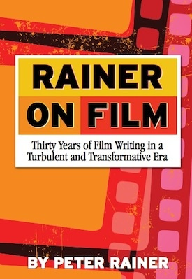 Film critic Peter Rainer's new book,