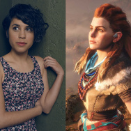 "Ashly Burch voiced the character, Aloy, from Sony/Guerilla Games' ""Horizon Zero Dawn."""