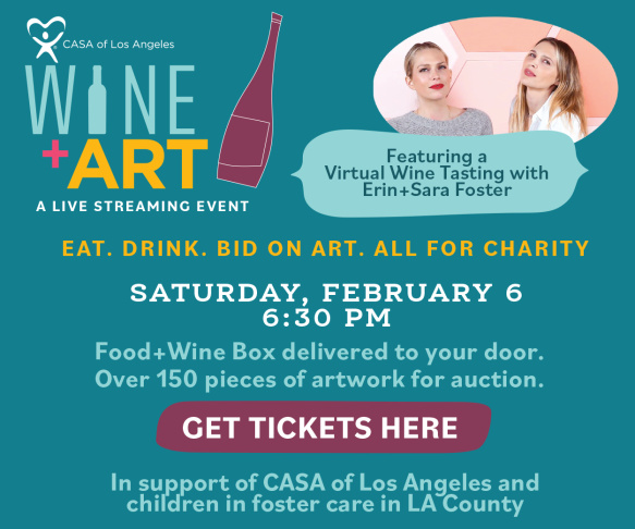 CASA of Los Angeles - Wine+Art 2021