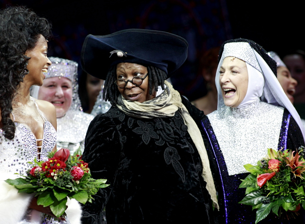 Whoopi Goldberg attends the premiere of Sister Act the musical in Germany.