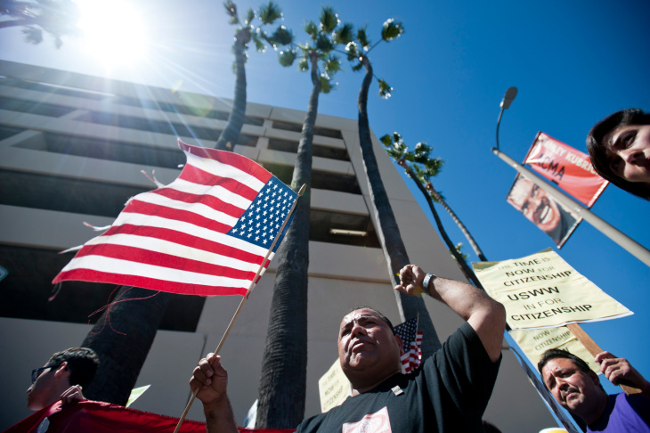 LA Immigration March - 8