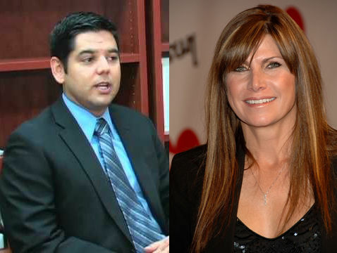 Emergency room physician Raul Ruiz, left, ran against Republican incumbent Mary Bono-Mack, right, in a Coachella Valley district.