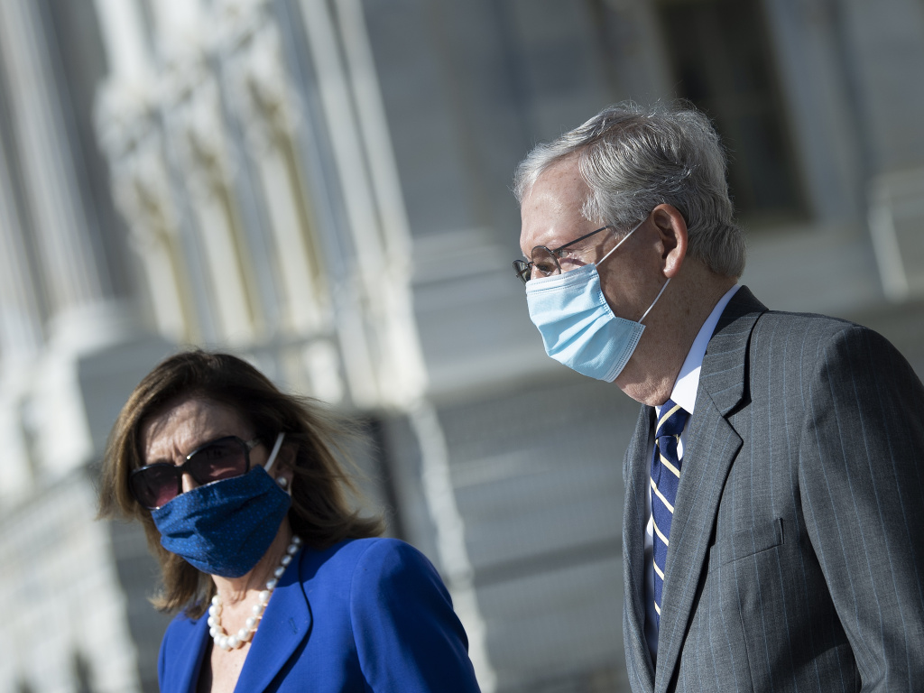 House Speaker Nancy Pelosi and Senate Majority Leader Mitch McConnell are now in direct talks about coronavirus relief aid, after weeks of pushing competing proposals.
