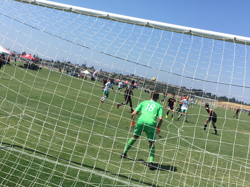 The US Soccer Federation's summer tournament in Oceanside, CA brings together the top youth talent from across the country. It's part of recent efforts to strengthen the next generation of U.S. soccer players. July 2018.