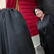 "Supreme Court Justice Sonia Sotomayor was named by 5 percent of respondents as ""the most important Hispanic leader in the country today."""