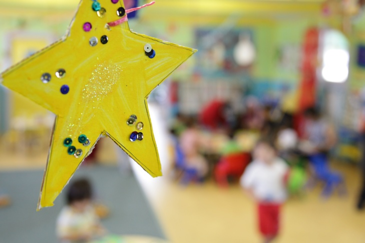 preschool kids arts and crafts star children early education