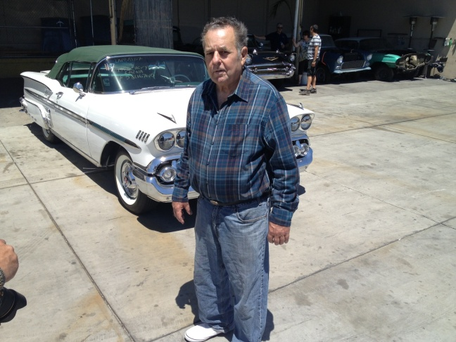 72-year-old Norman Marden with his new...old...1958 Chevrolet Impala