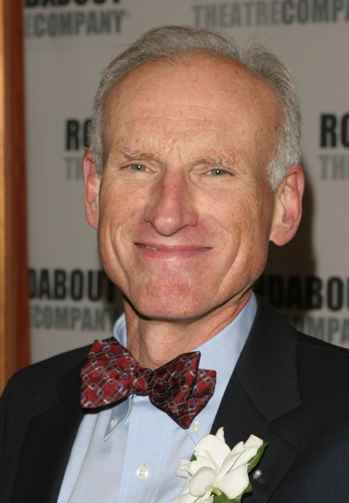 James Rebhorn attends the curtain call for the Roundabout Theatre Company's Broadway premiere of 'Twelve Angry Men' on October 28, 2004 in New York City