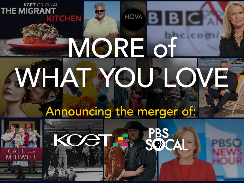 What the KCET and PBS merger means for the viewer.