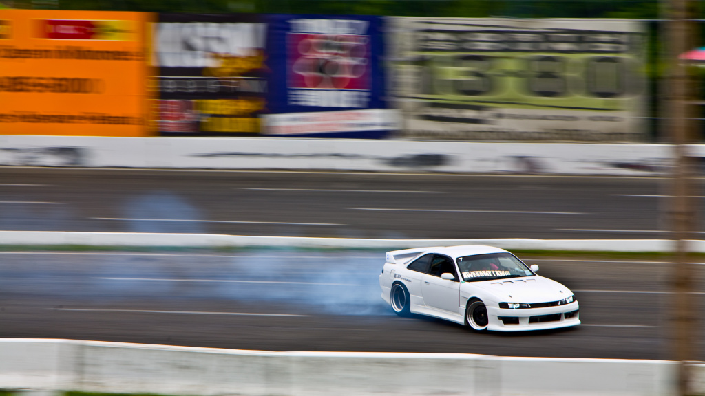 Smoke, noise, action and danger. The fast and furious racing style known as drifting is quickly winning fans.