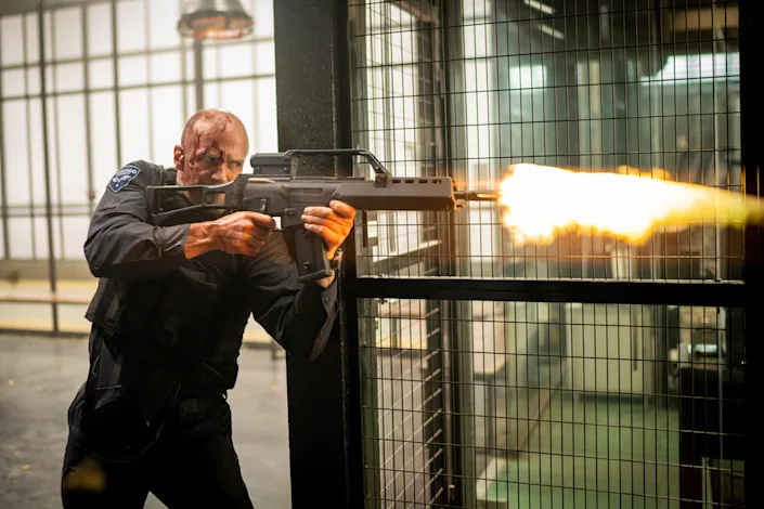 Jason Statham's character H in the film