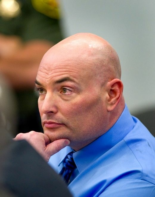 Eric Naposki in court.