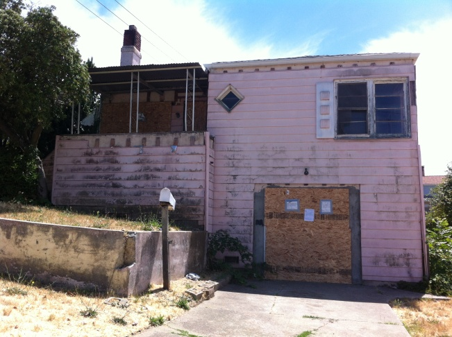 Vallejo foreclosed home