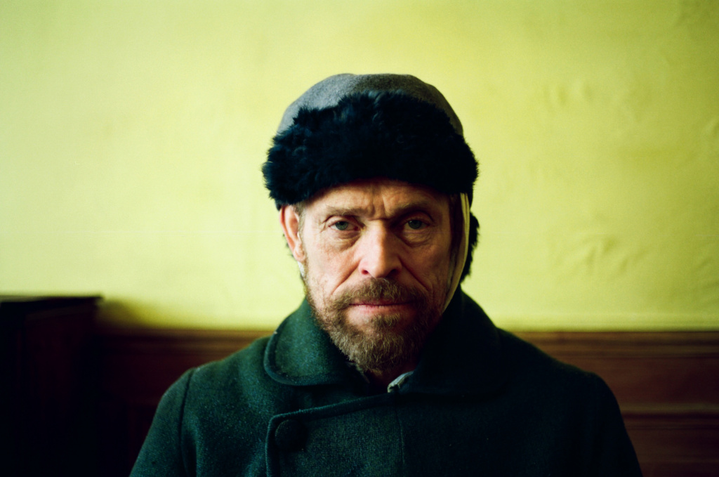 Willem Dafoe as Vincent van Gogh in Julian Schnabel's