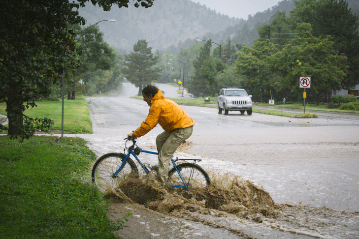 Major Floods Inundate Boulder, Colorado