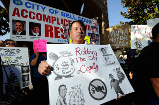 From the now infamously high salaries of Bell's city council, to the questionable city contracts in Maywood and the residents of Hawaiian Gardens gathering signatures in an effort to recall two city council members, corruption seems to be spreading across the Southland.