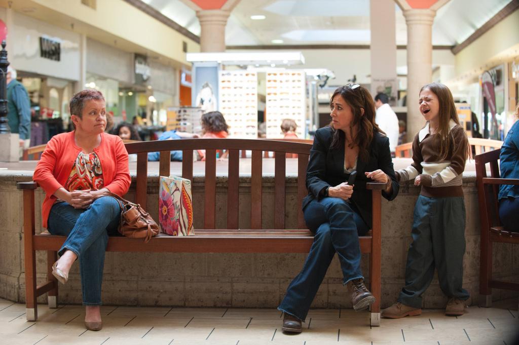Pamela Adlon as Sam and Olivia Edward as Duke in Episode 1 of FX's