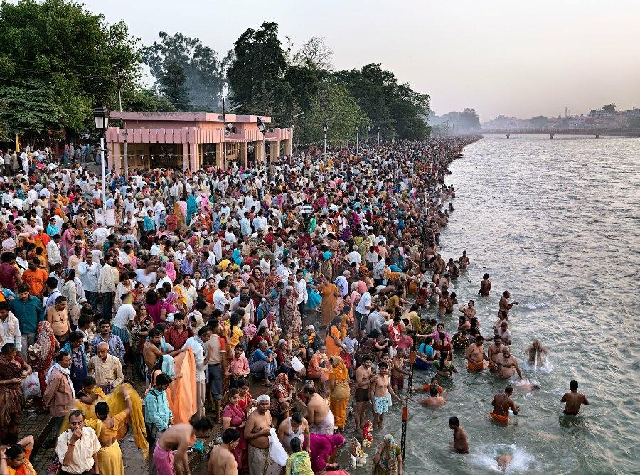 Kumbh Mela #1 Haridwar, India 2010.