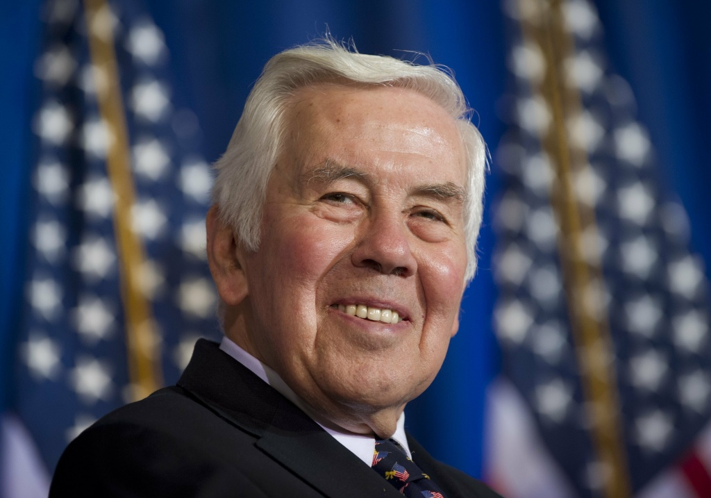 Former Indiana Sen. Richard Lugar died Sunday at 87. Lugar was known for his lasting non-proliferation work after the Cold War.