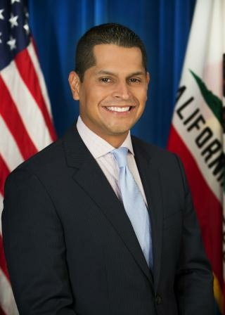 California Assemblyman Miguel Santiago (D-Los Angeles) pictured in a photo from the lawmaker's official website.