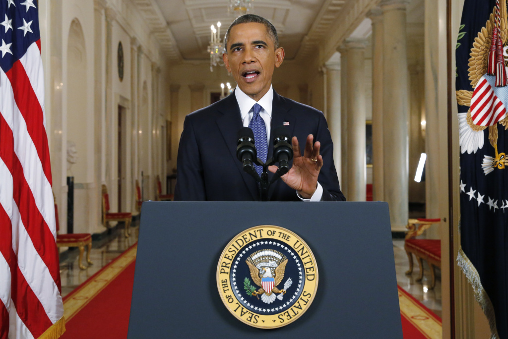 U.S. President Barack Obama announces executive actions on U.S. immigration policy during a nationally televised address from the White House in Washington, DC.