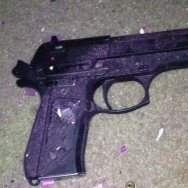 handgun recovered