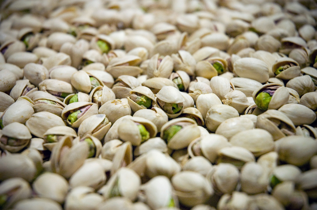 This year, many of the pistachios grown in California's San Joaquin Valley are missing the green, fatty meat that nut lovers crave. Instead, they're empty inside, the result of drought, heat and weather pattern changes that have messed with pistachio tree fertilization.