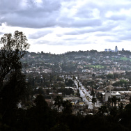 Weather over Eagle Rock, Panorama