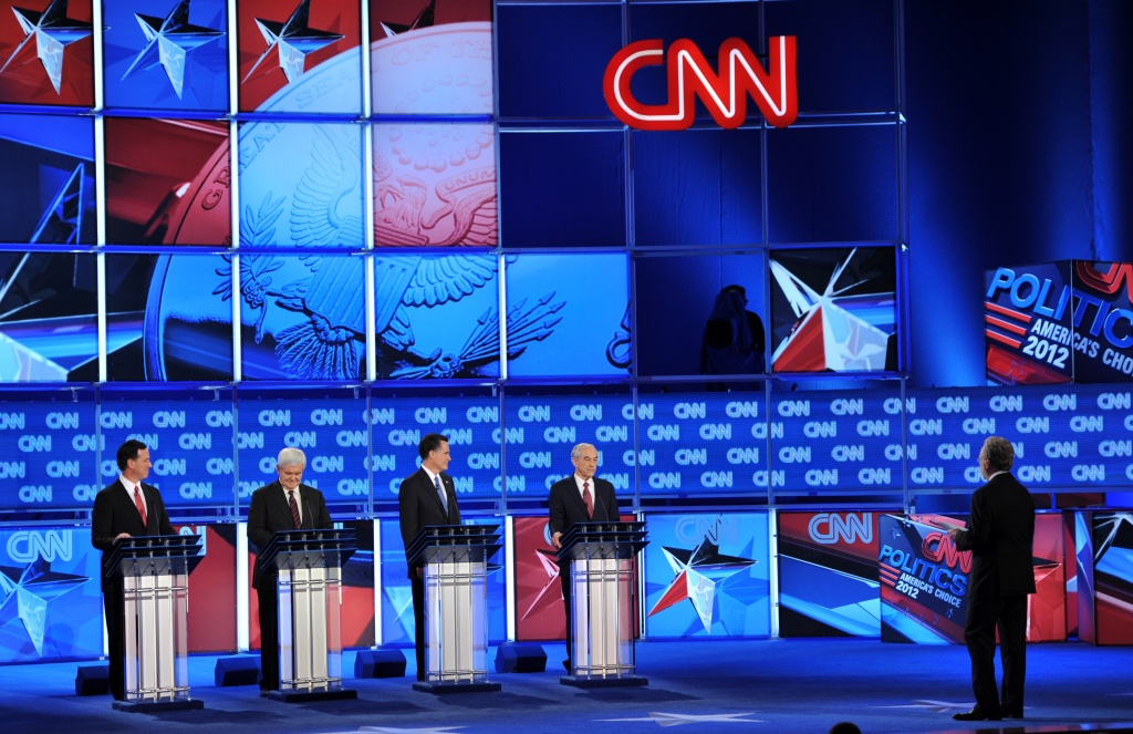 CNN hosted GOP presidential debates. It may now be debating whether to buy social media and tech blog Mashable.