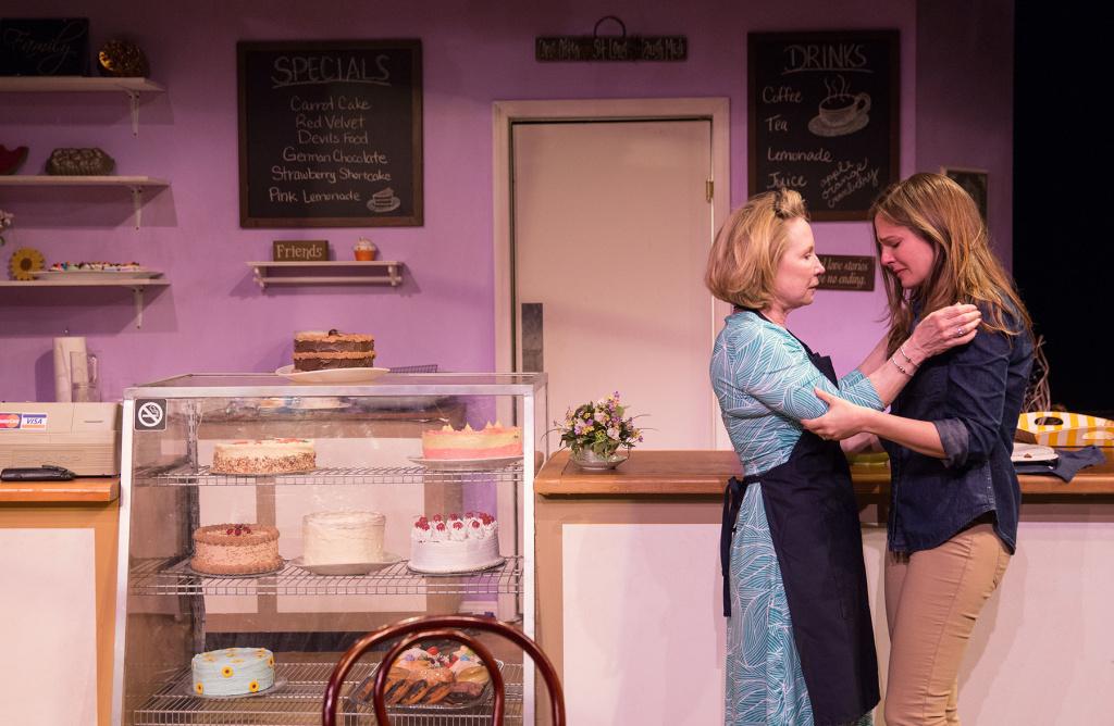 Debra Jo Rupp (Della) and Shannon Lucio (Jen) in
