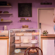 Debra Jo Rupp, left, plays Della, a conservative Christian baker who is asked to make a cake for a lesbian wedding — and one of the women is an old family friend, played by Shannon Lucio.
