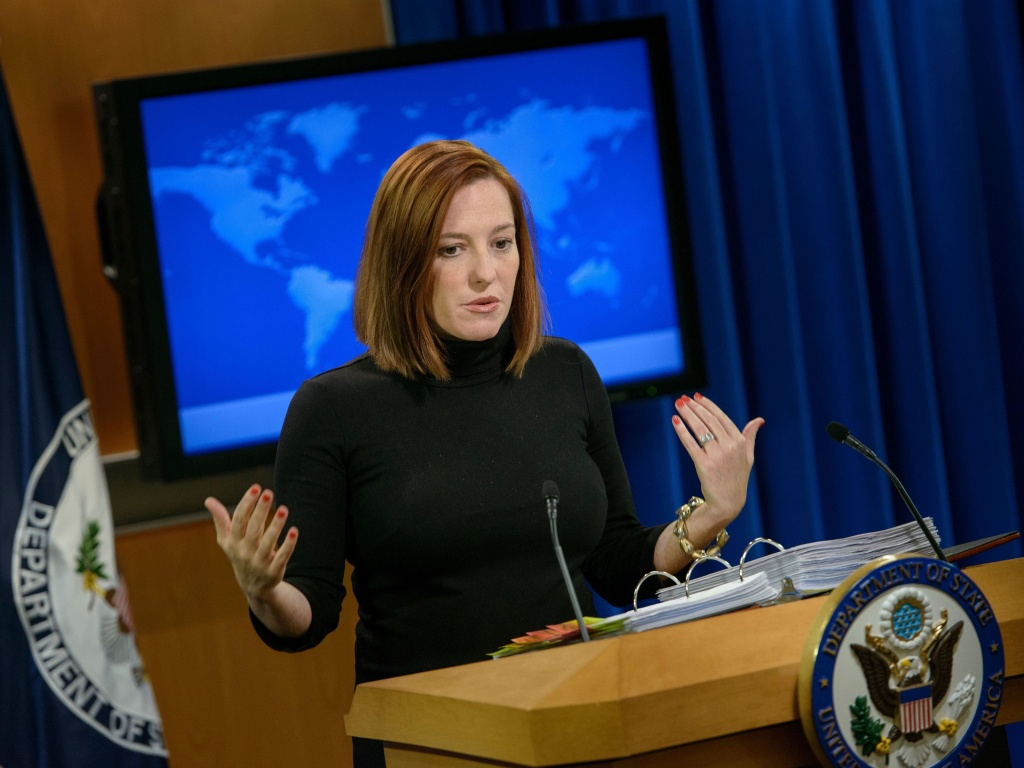 President-elect Joe Biden has named Jen Psaki to be his White House press secretary. Psaki was State Department spokeswoman and White House communications director during the Obama administration.